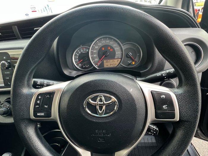 2015 Toyota Yaris Ascent NCP130R Grey