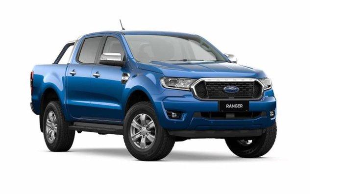 2021 Ford Ranger XLT PX MkIII MY21.75 4X4 Dual Range Lightning Blue