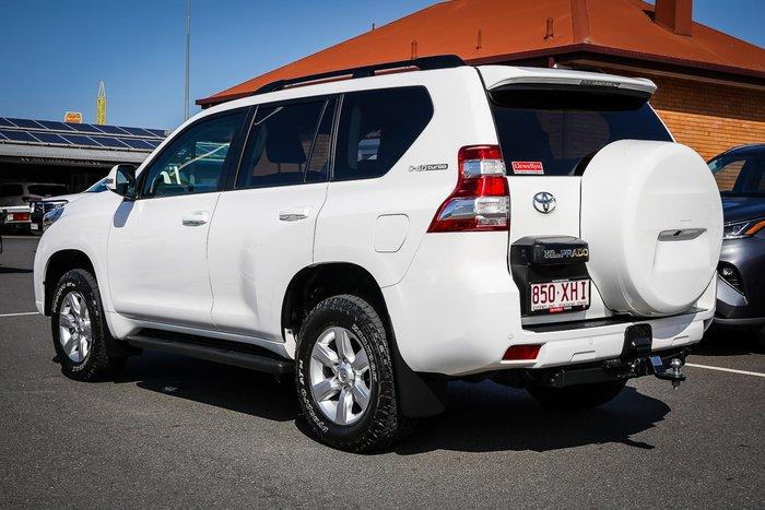 2017 Toyota PRADO Prado GXL 2.8L T Diesel Automatic Wagon 4C78720 001 Glacier White