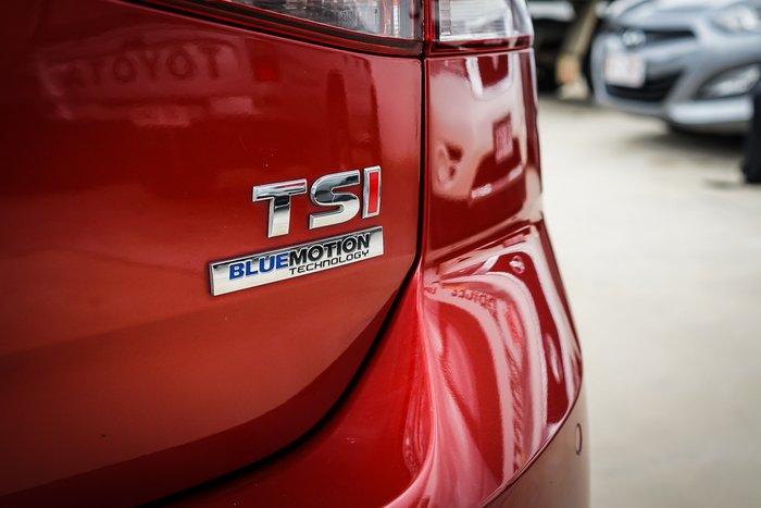 2014 VOLKSWAGEN GOLF 2014 VOLKSWAGEN GOLF 90 TSI COMFORTLINE AUTO 5D HATCHBACK T4 Red