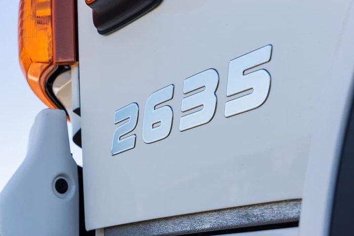 2021 HINO 500 SERIES White