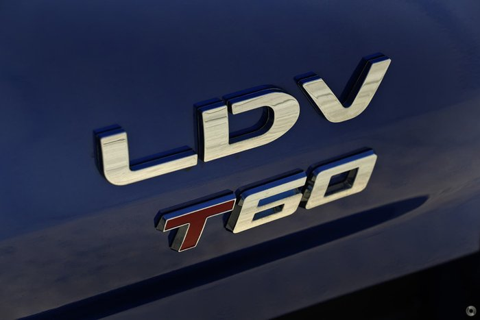 2021 LDV T60 PRO SK8C 4X4 Dual Range Jewel Blue