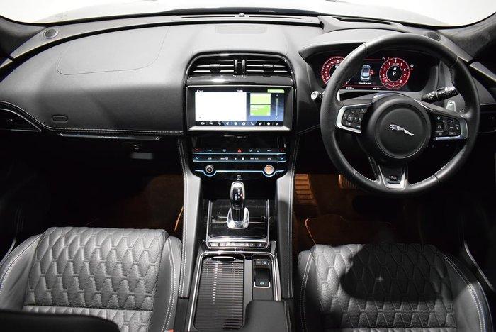2019 Jaguar F-PACE SVR X761 MY19 AWD Santorini Black