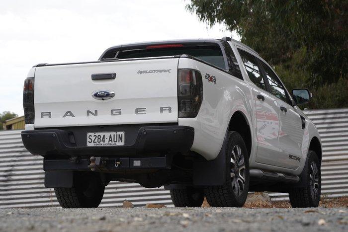 2013 Ford Ranger Wildtrak PX 4X4 Dual Range Cool White