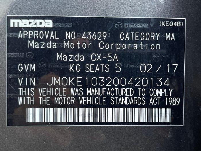 2017 Mazda CX-5 Akera KE Series 2 AWD Grey