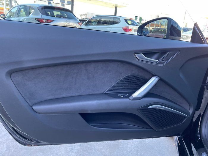 2014 Audi TT 8J MY14 Four Wheel Drive Black