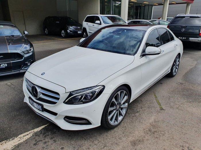 2015 Mercedes-Benz C-Class C250 BlueTEC W205 White