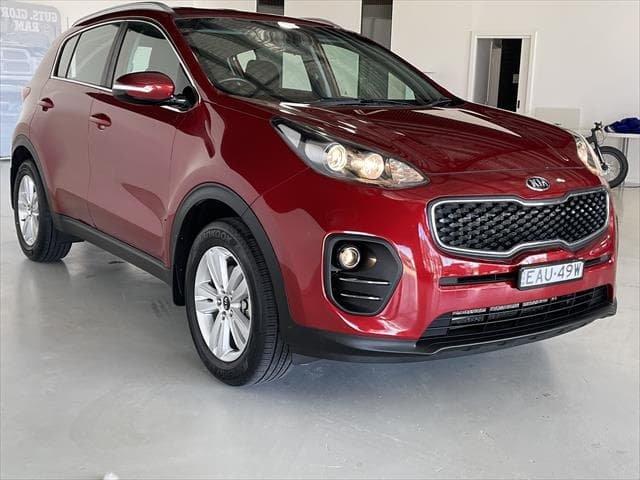 2018 Kia Sportage Si QL MY19 Fiery Red