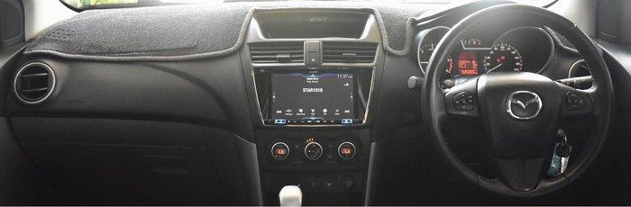 2018 Mazda BT-50 XTR UR 4X4 Dual Range White