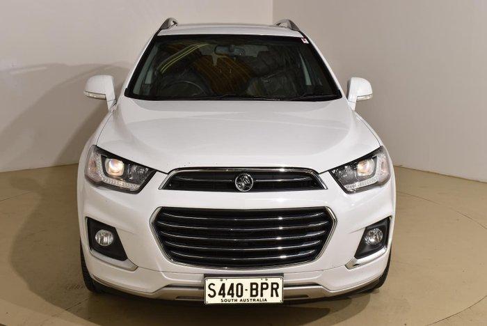 2017 Holden Captiva LTZ CG MY17 AWD Summit White