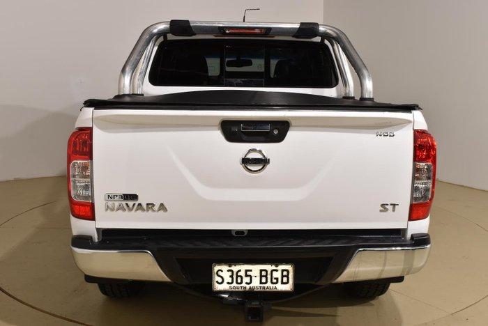 2015 Nissan Navara ST D23 Polar White