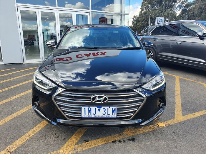 2018 Hyundai Elantra Elite AD MY18 Phantom Black