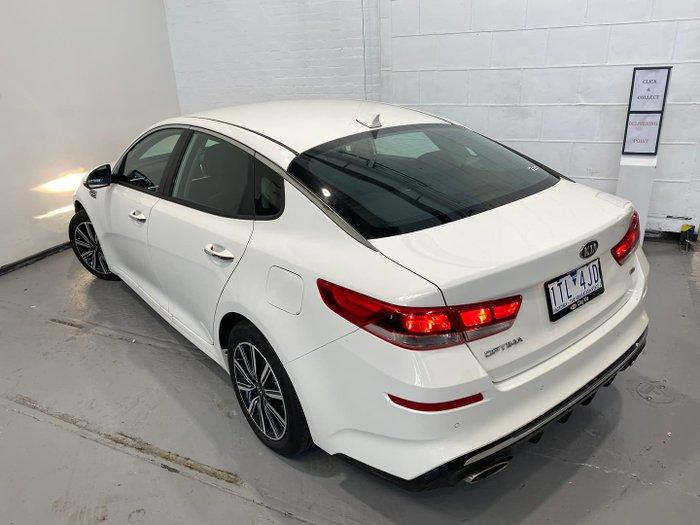 2019 Kia Optima Si JF MY20 Clear White
