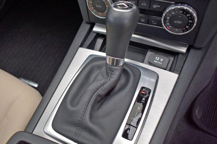 2013 Mercedes-Benz C-Class C250 C204 MY13 Magnetite black