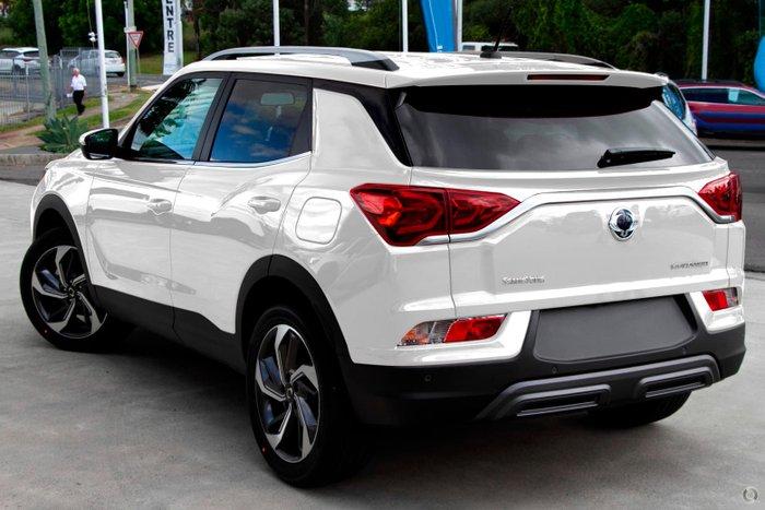 2021 SsangYong Korando Ultimate C300 MY21 Grand White