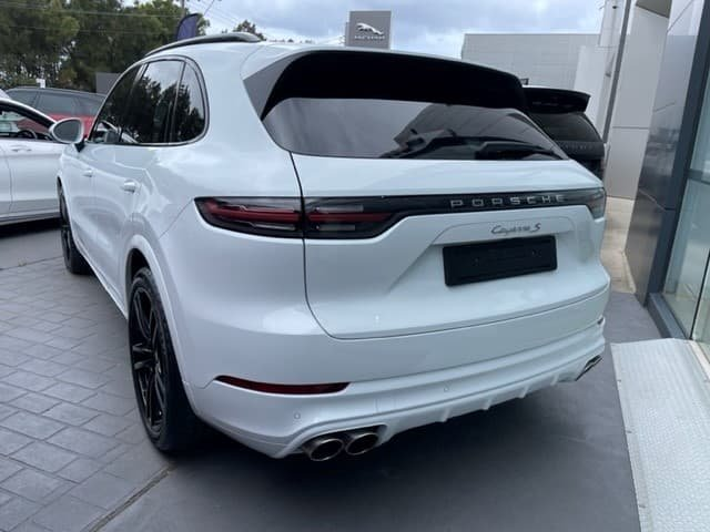 2019 Porsche Cayenne S 9YA MY20 4X4 On Demand White