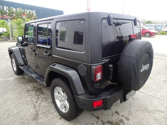 2015 Jeep Wrangler Unlimited Sport JK MY15 4X4 Dual Range Black