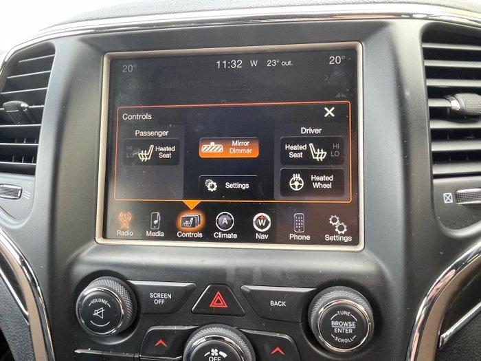 2014 Jeep Grand Cherokee Limited WK MY14 4X4 Dual Range Billet Silver