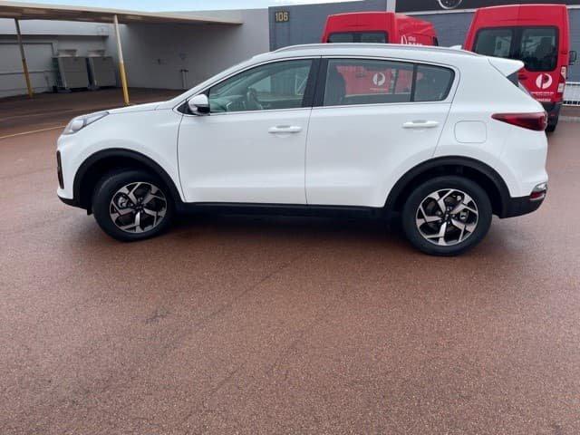 2020 Kia Sportage S QL MY21 Clear White