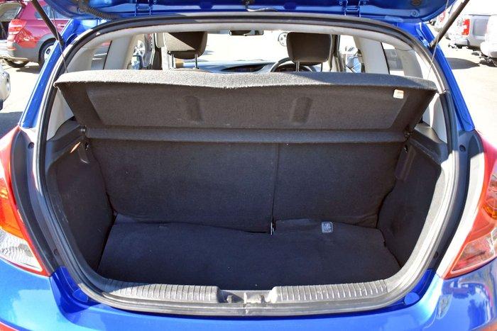2012 Hyundai i20 Active PB MY12 Sparkle Blue