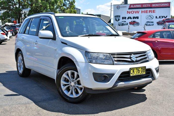 2012 Suzuki Grand Vitara Urban JB MY13 White Pearl