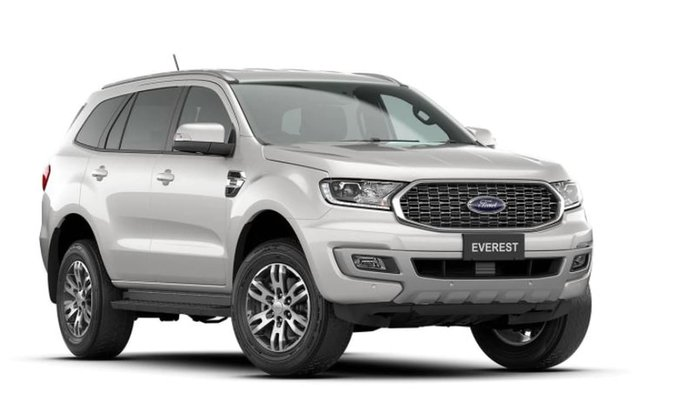 2021 Ford Everest Trend UA II MY21.75 4X4 Dual Range Alabaster White