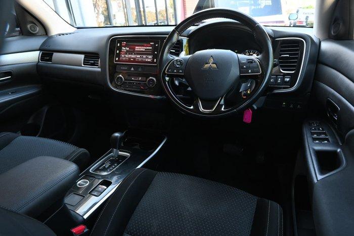 2017 Mitsubishi Outlander LS Safety Pack ZK MY18 AWD Black