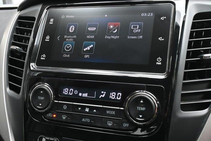 2017 Mitsubishi Pajero Sport Exceed QE MY17 4X4 Dual Range Black