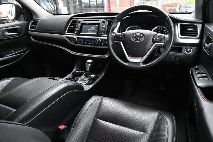 2016 Toyota Kluger GXL GSU50R Silver Sky