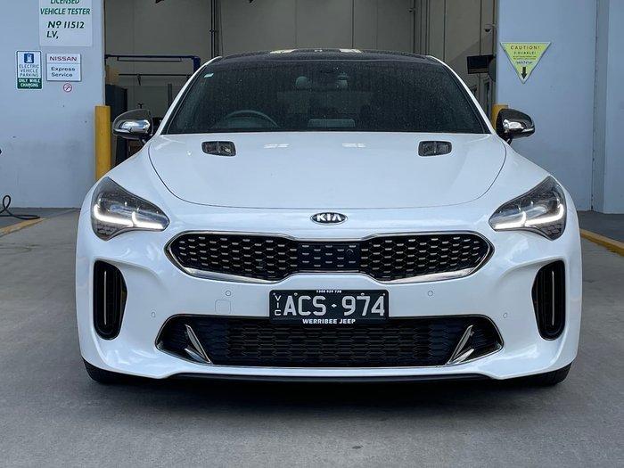 2020 Kia Stinger GT CK MY20 White