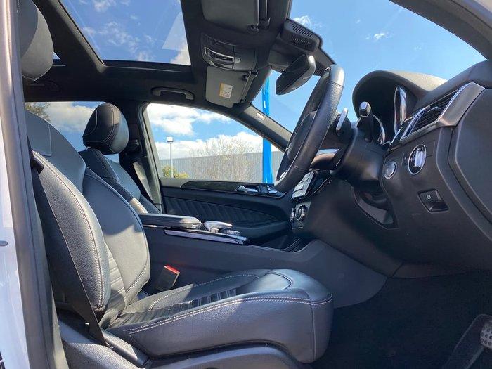 2018 Mercedes-Benz GLE-Class GLE350 d C292 Four Wheel Drive White