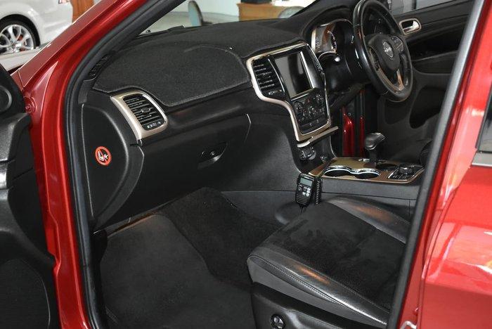 2014 Jeep Grand Cherokee Blackhawk WK MY14 4X4 Dual Range Red