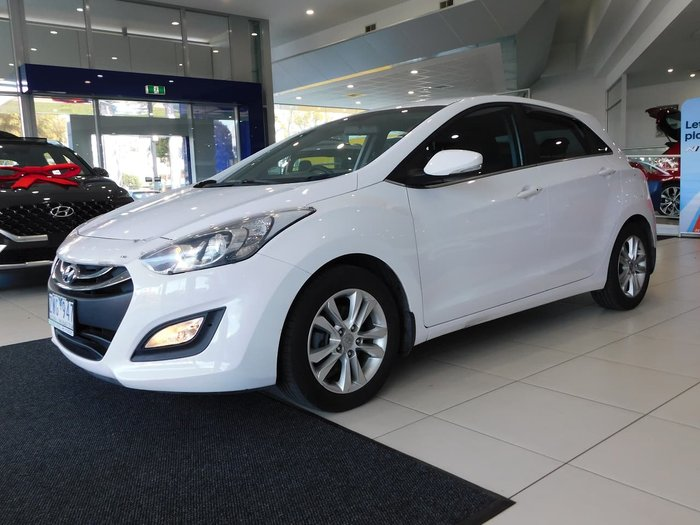 2013 Hyundai i30 Elite GD White