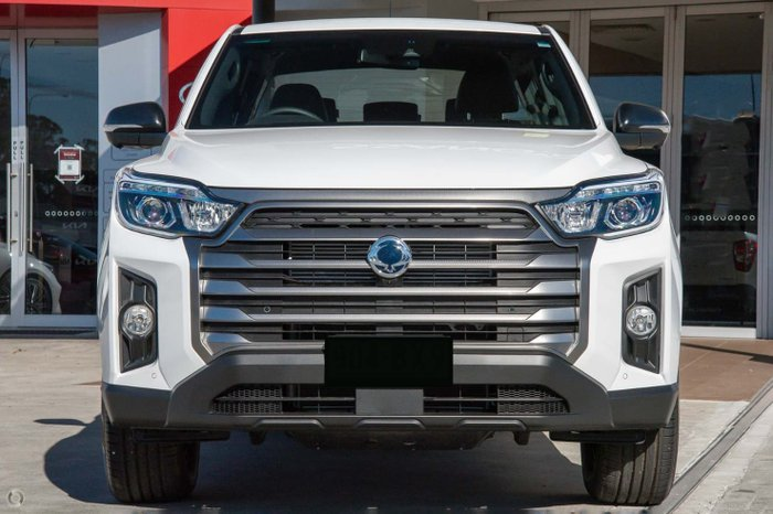 2021 SsangYong Musso Ultimate Q215 MY21 4X4 Dual Range Silky White Pearl