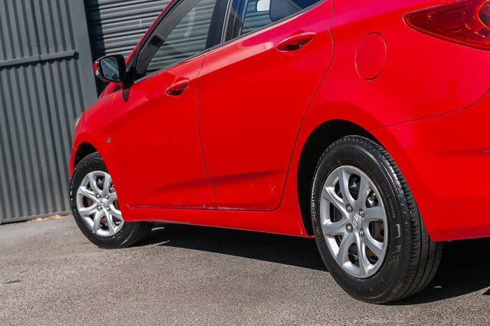 2012 Hyundai Accent Active RB Red