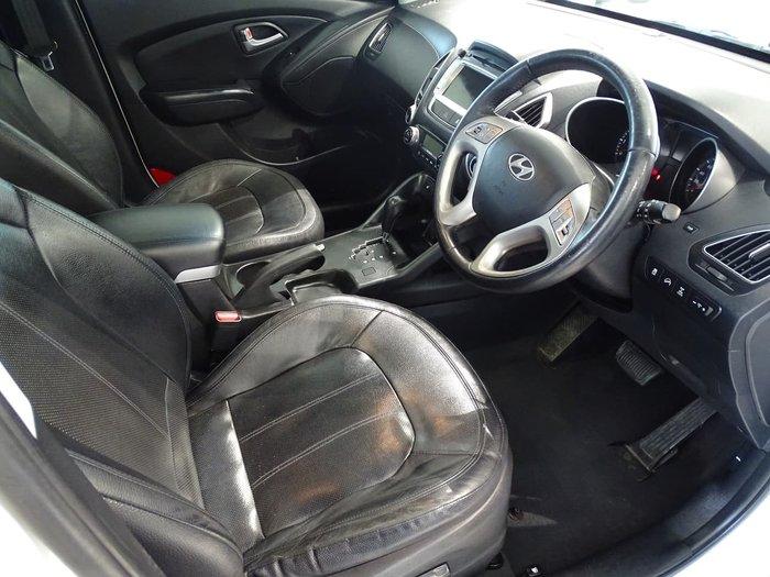 2012 Hyundai ix35 Highlander LM2 AWD White