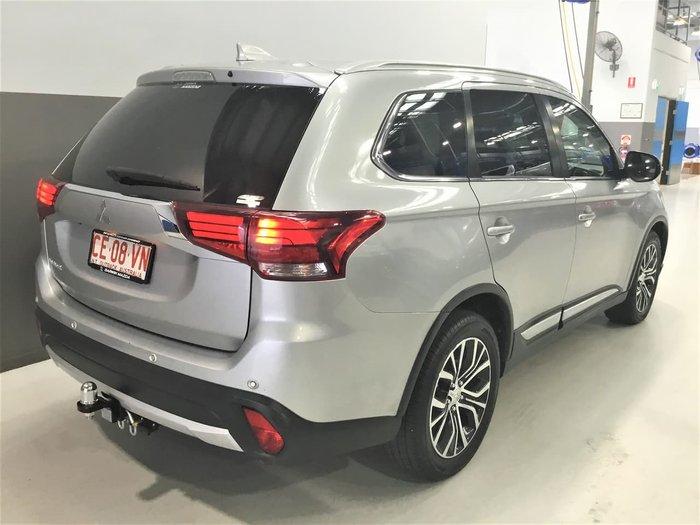 2018 Mitsubishi Outlander LS ZL MY18.5 AWD Silver