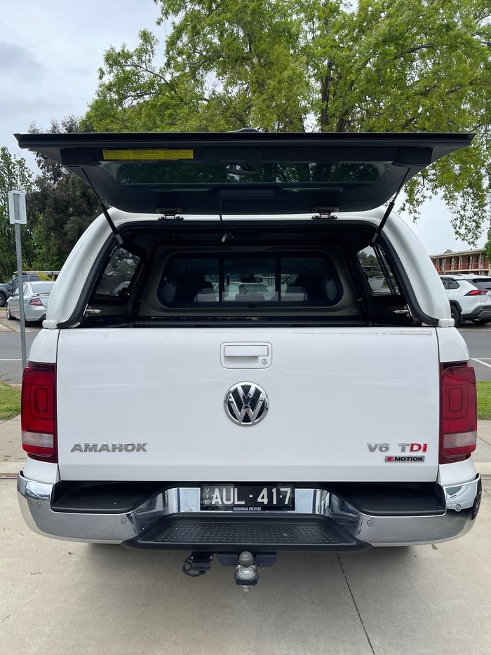 2018 Volkswagen Amarok TDI550 Highline 2H MY18 4X4 Constant White
