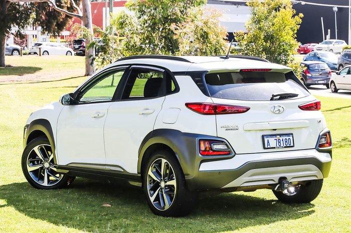 2018 Hyundai Kona Highlander OS MY18 AWD White