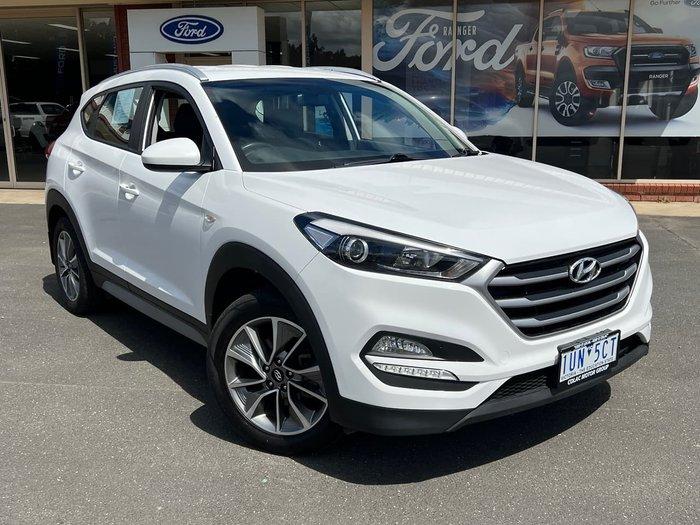 2018 Hyundai Tucson Active X TL3 MY19 AWD White