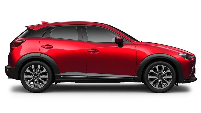 2021 Mazda CX-3 sTouring DK Soul Red Crystal