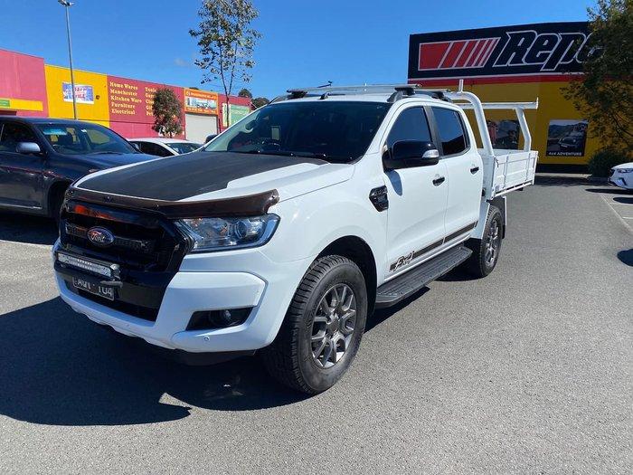 2017 Ford Ranger FX4 PX MkII MY18 4X4 Dual Range White