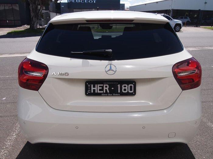 2017 Mercedes-Benz A-Class A180 W176 White