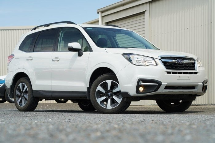 2018 Subaru Forester 2.0D-L S4 MY18 AWD Crystal White