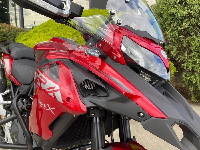 2021 Benelli TRK 502X (ABS) Red