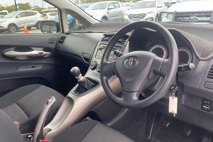 2009 Toyota Corolla Ascent ZRE152R White