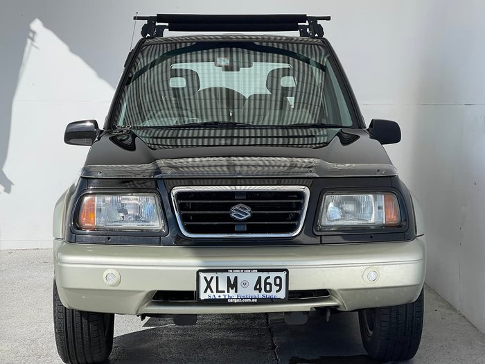 1997 Suzuki Vitara JLX SV420G Type3 4X4 Black