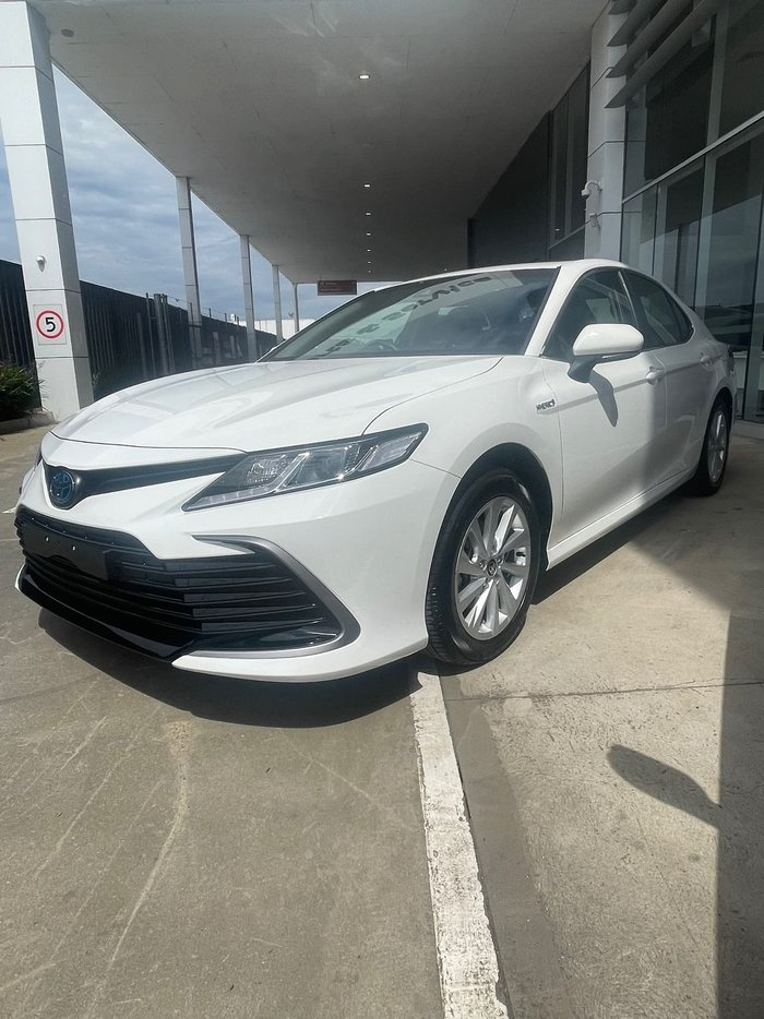 2021 Toyota Camry Ascent AXVH70R White