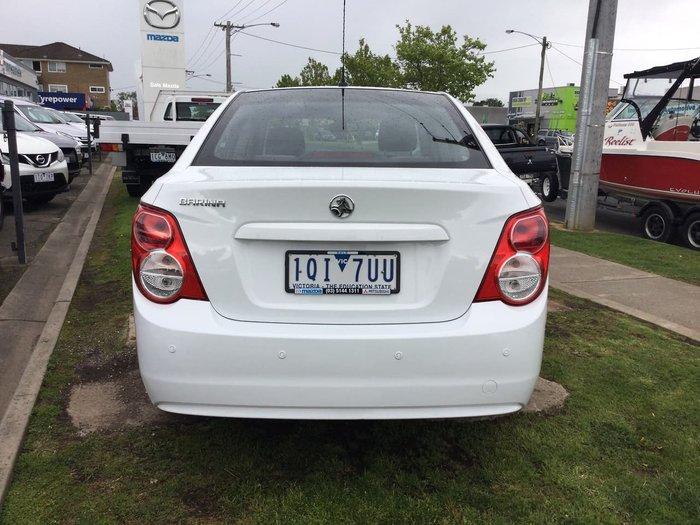 2012 Holden Barina CD TM MY13 White