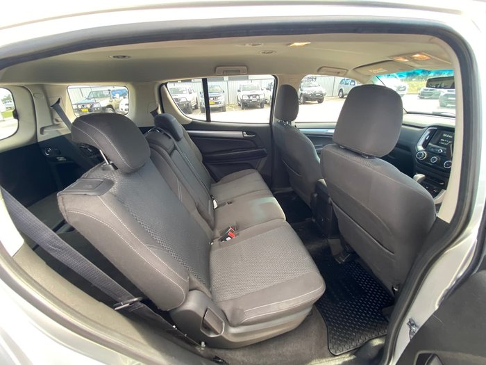 2016 Holden Trailblazer LT RG MY17 4X4 Dual Range Silver
